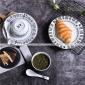 ��意 �A形西餐�P牛排�P蛋糕早餐�P子中式陶瓷餐具餐�d碗�P碟套�b